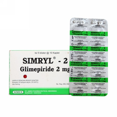 SIMRYL 2 MG TABLET