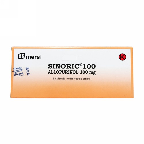 SINORIC 100 MG TABLET STRIP