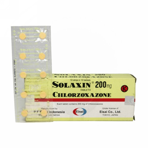 SOLAXIN 200 MG TABLET STRIP