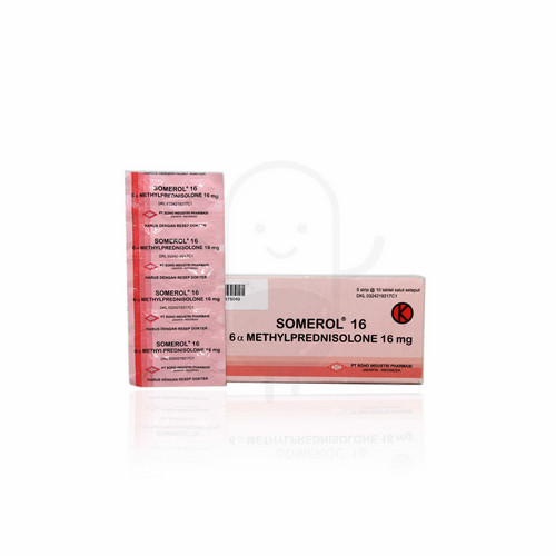 SOMEROL 16 MG TABLET BOX