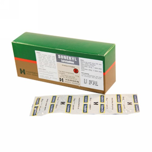 SONERYL 10 MG STRIP 10 KAPLET
