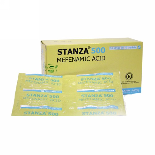 STANZA 500 MG STRIP 10 KAPLET