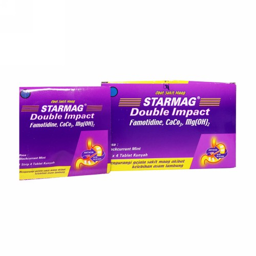 STARMAG DOUBLE IMPACT STRIP 4 TABLET
