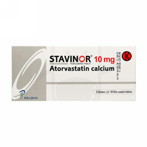 STAVINOR 10 MG STRIP 10 TABLET
