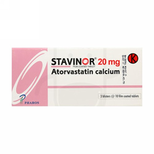 STAVINOR 20 MG STRIP 10 TABLET