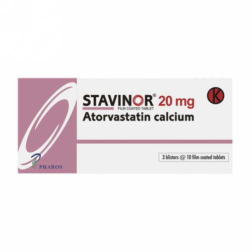 STAVINOR 20 MG TABLET