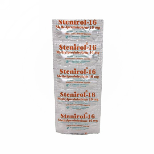 STENIROL 16 MG STRIP 10 TABLET