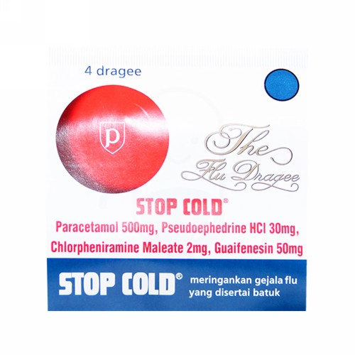 STOP COLD STRIP 4 TABLET