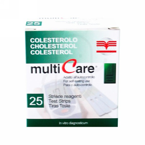 STRIP MULTICARE CHOLESTEROL