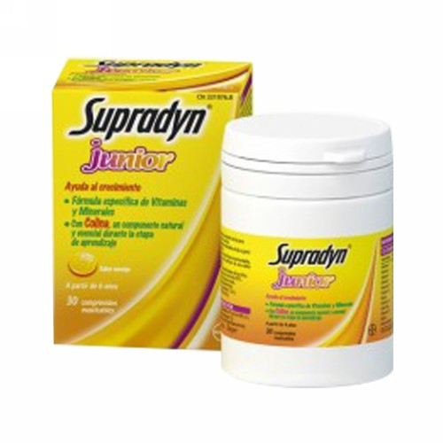 SUPRADYN JUNIOR 30 TABLET
