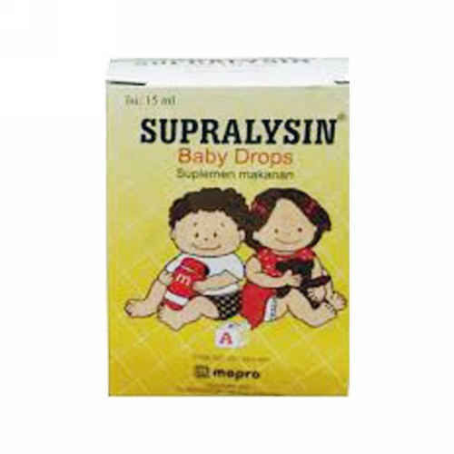 SUPRALYSIN BABY DROPS 15 ML