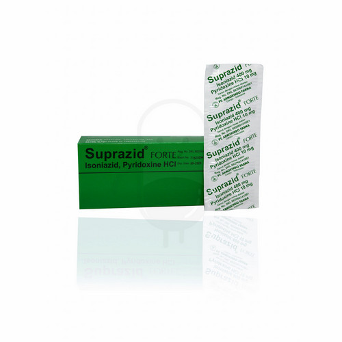 SUPRAZID FORTE STRIP 10 TABLET