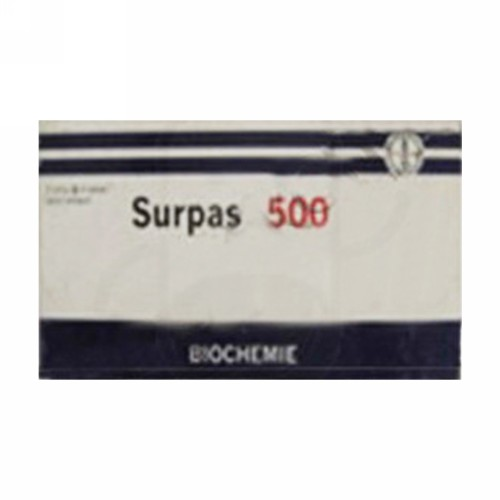 SURPAS 500 MG STRIP 6 TABLET