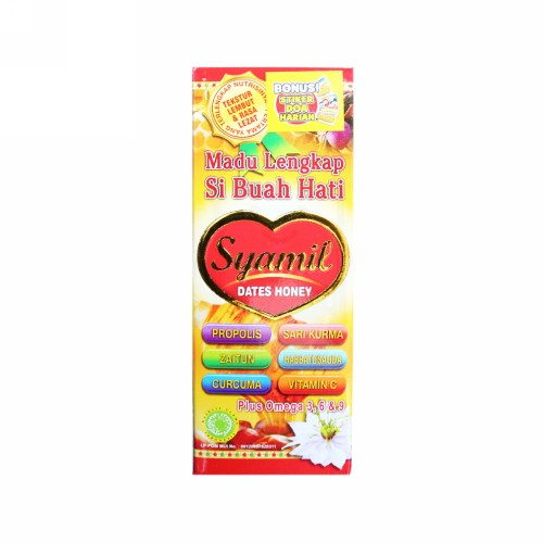 SYAMIL MADU LENGKAP SI BUAH HATI DATES HONEY 125 ML BOTOL