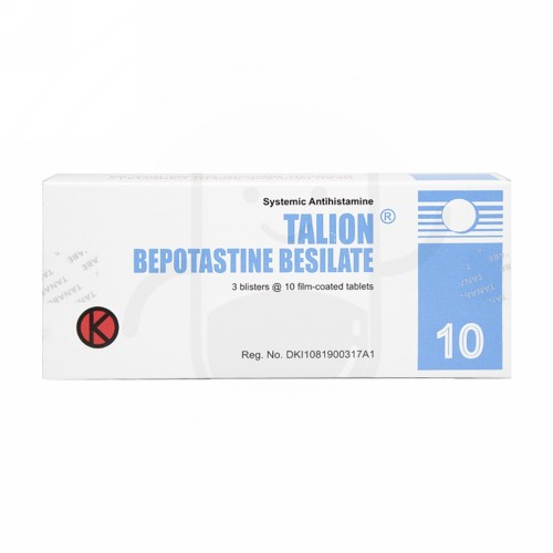 TALION 10 MG STRIP 10 TABLET