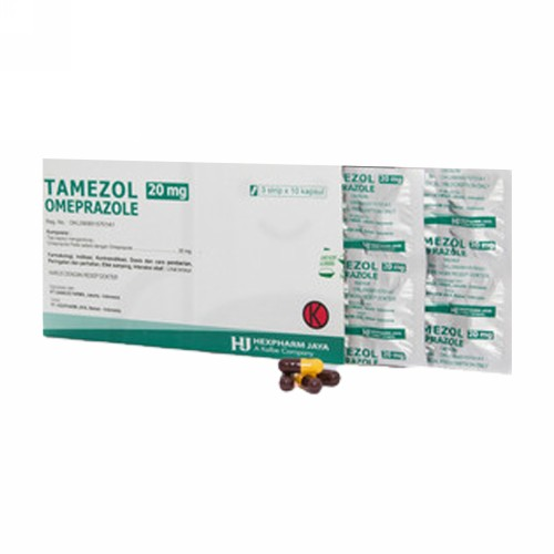 TAMEZOL 20 MG STRIP 10 KAPSUL