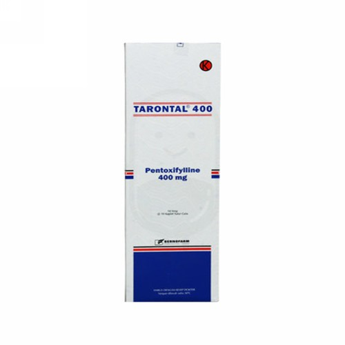 TARONTAL 400 MG STRIP 10 TABLET