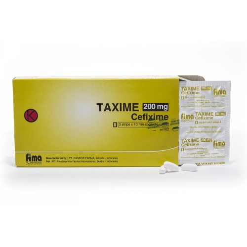 TAXIME 200 MG KAPLET