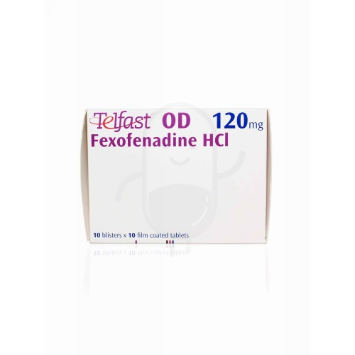 TELFAST OD 120 MG TABLET