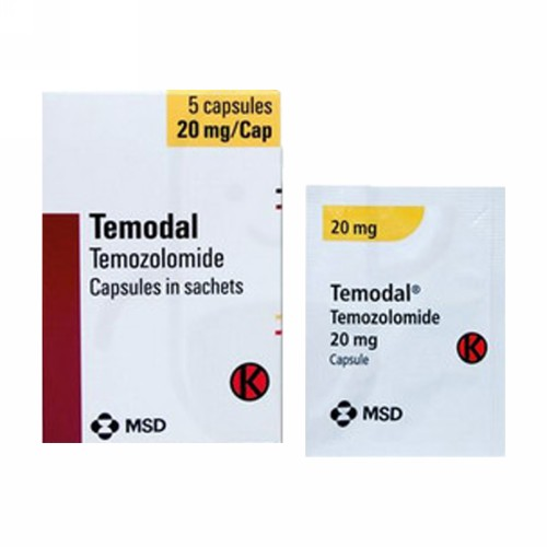 TEMODAL 20 MG BOX 5 KAPSUL