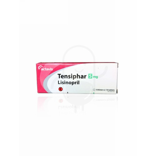 TENSIPHAR 5 MG TABLET