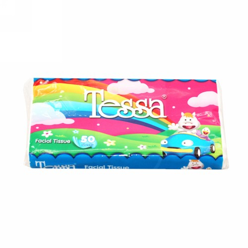 TESSA TRAVEL PACK TISSUE BOX 50 PCS