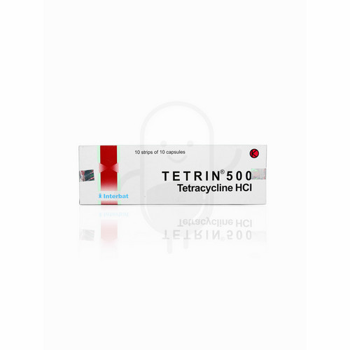 TETRIN 500 MG STRIP 10 KAPSUL