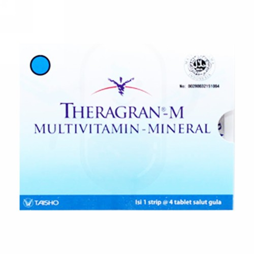 THERAGRAN M BOX 100 TABLET