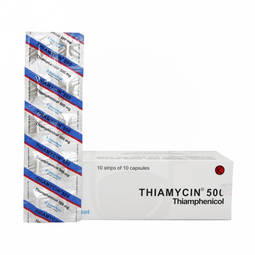 THIAMYCIN 500 MG STRIP 10 KAPSUL