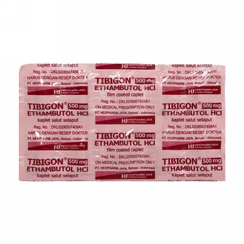 TIBIGON 500 MG BOX 100 KAPLET