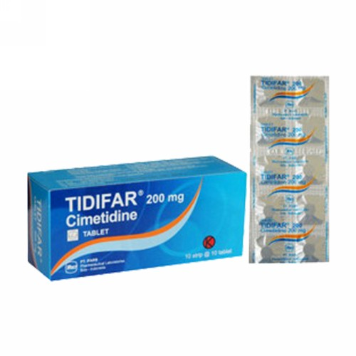 TIDIFAR 200 MG STRIP 10 TABLET
