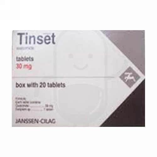 TINSET 30 MG TABLET STRIP