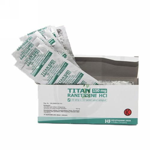 TITAN 150 MG BOX 100 TABLET