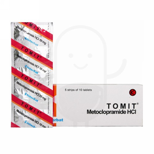 TOMIT 10 MG STRIP 10 TABLET