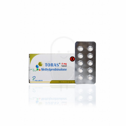 TORAS 4 MG BOX 100 TABLET