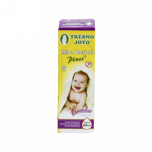TRESNOJOYO TELON HERBAL PLUS LAVENDER 60 ML