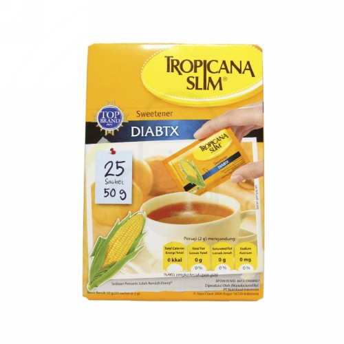 TROPICANA SLIM CLASSIC BOX 50 SACHET
