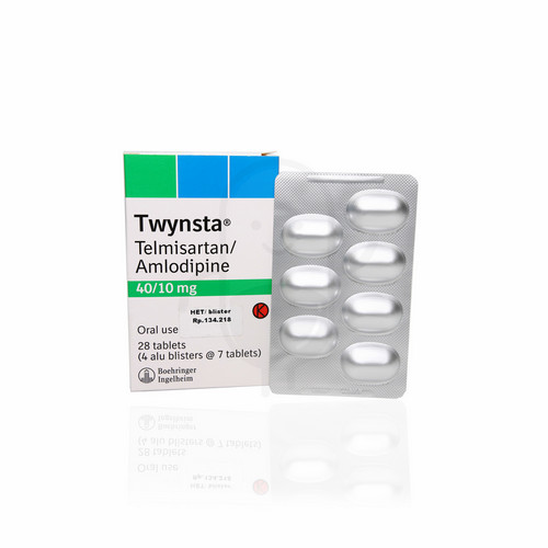 TWYNSTA 40 / 10 MG STRIP 7 TABLET