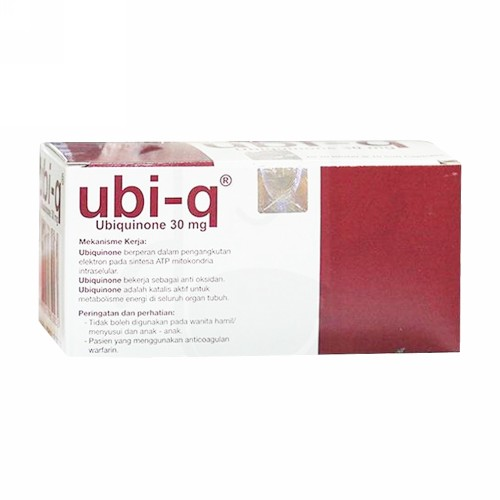 UBI Q 30 MG STRIP 10 KAPSUL