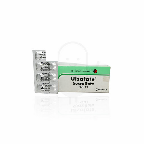 ULSAFATE 500 MG STRIP 10 TABLET