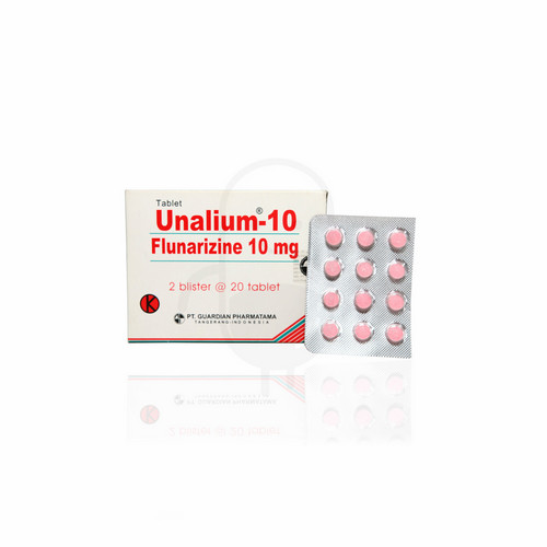 UNALIUM 10 MG TABLET STRIP