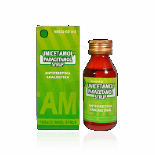 UNICETAMOL SIRUP 60 ML
