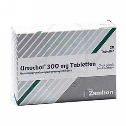 URSOCHOL 300 MG BOX 30 TABLET