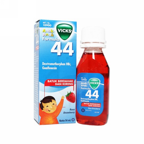 VICKS FORMULA 44 ANAK RASA STRAWBERRY SIRUP 54 ML