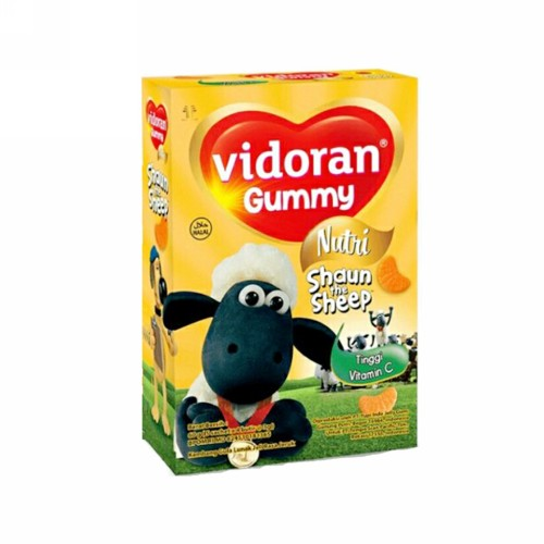 VIDORAN GUMMY VITAMIN C BOX