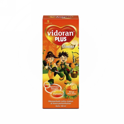 VIDORAN PLUS SIRUP 100 ML