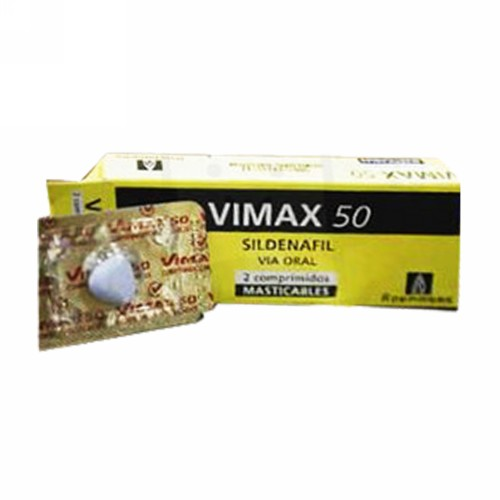 VIMAX 50 MG TABLET BOX