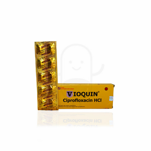 VIOQUIN 500 MG STRIP 10 KAPLET