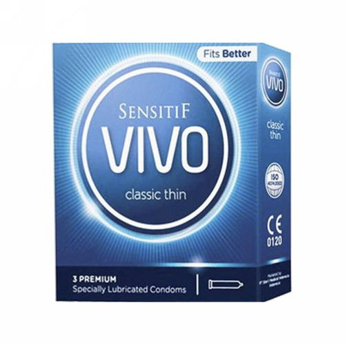 VIVO KONDOM CLASSIC THIN BOX 3 PCS