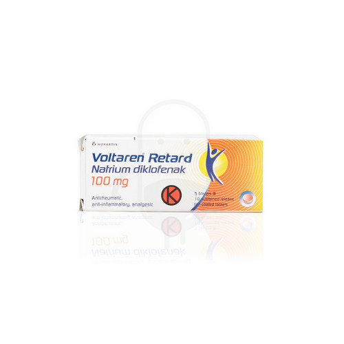 VOLTAREN RETARD 100 MG BOX 50 TABLET